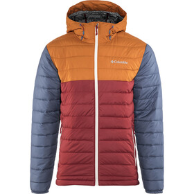 Columbia Powder Lite Hupullinen Takki Miehet, red element/bright copper